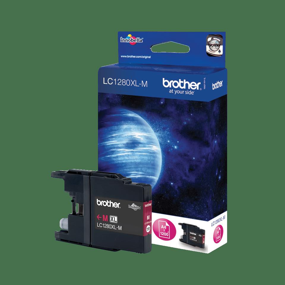 Brother LC-1280XL-M Tintenpatrone – Magenta 0