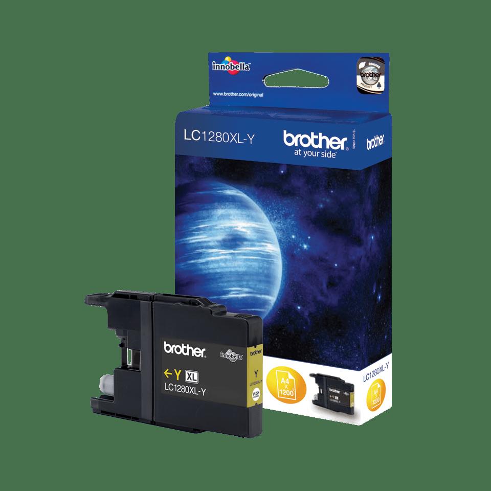Brother LC-1280XL-Y Tintenpatrone – Gelb 0