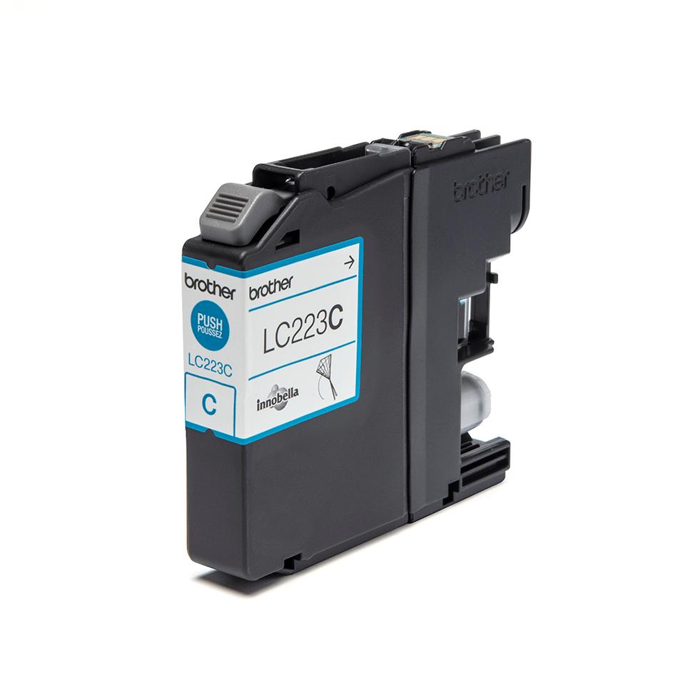 LC223C Cyan ink cartridge with box