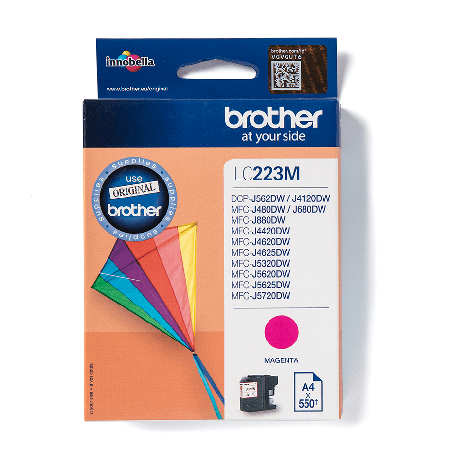 Brother LC-223M Tintenpatrone – Magenta