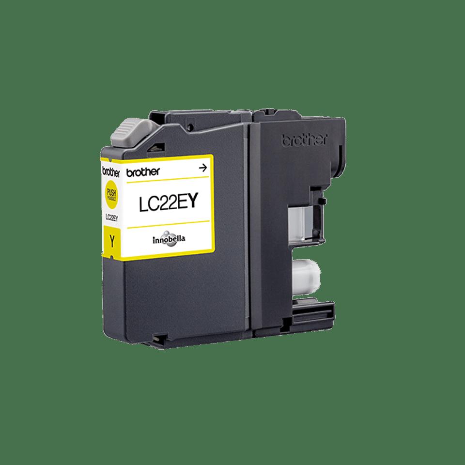 Brother LC-22EY XL-Tintenpatrone – Gelb