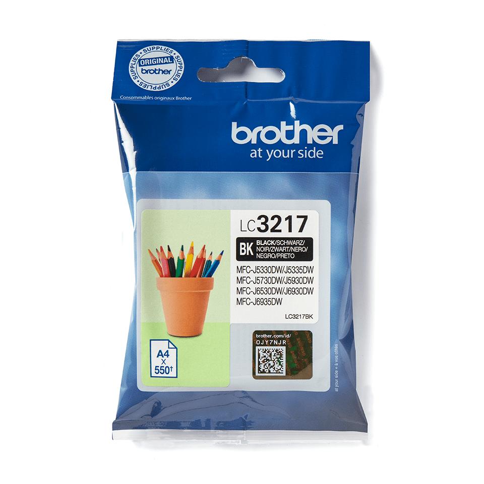 Brother LC-3217BK Tintenpatrone – Schwarz