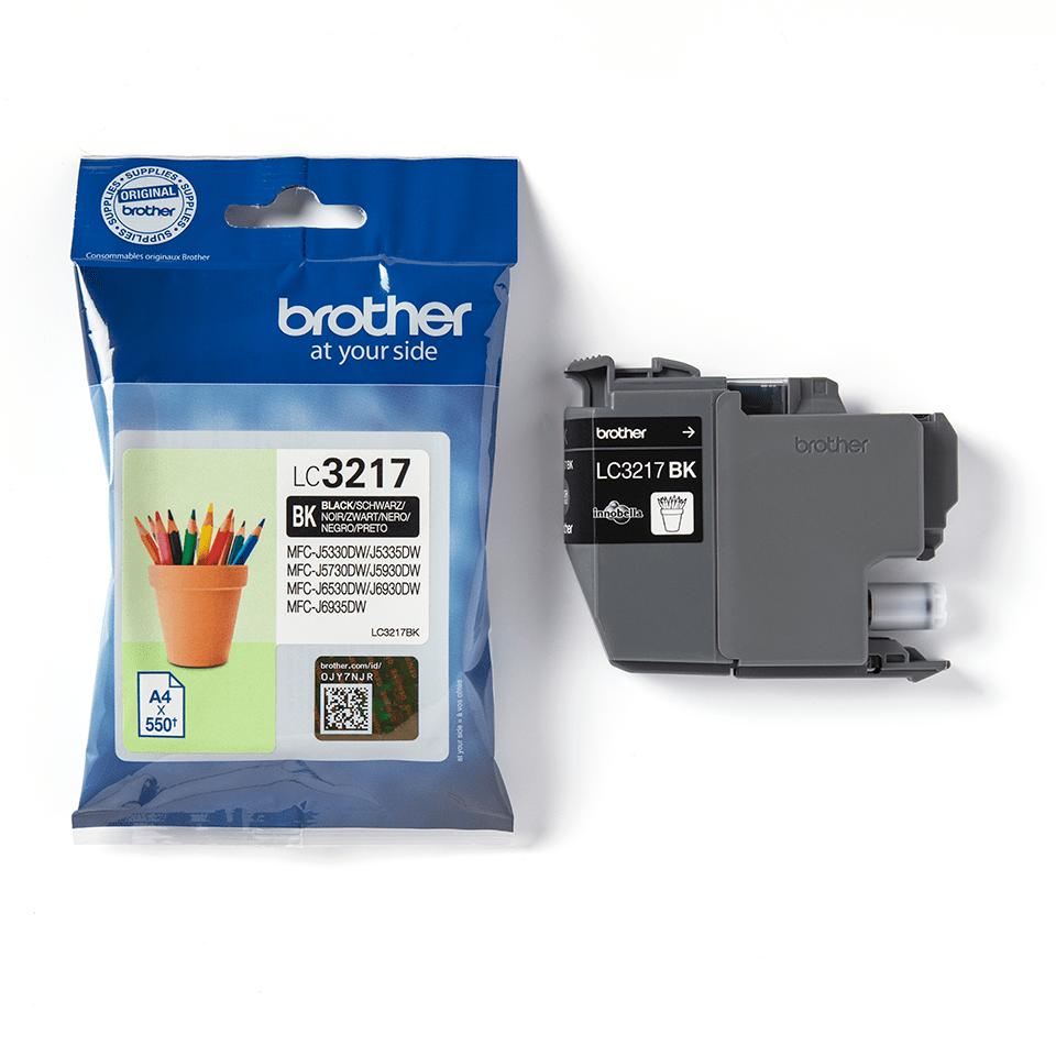 Brother LC-3217BK Tintenpatrone – Schwarz 3