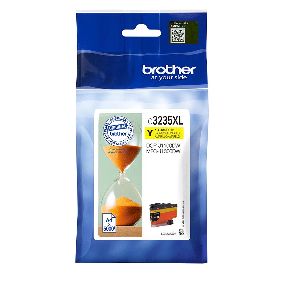 Brother LC-3235XL-Y Tintenpatrone – Gelb