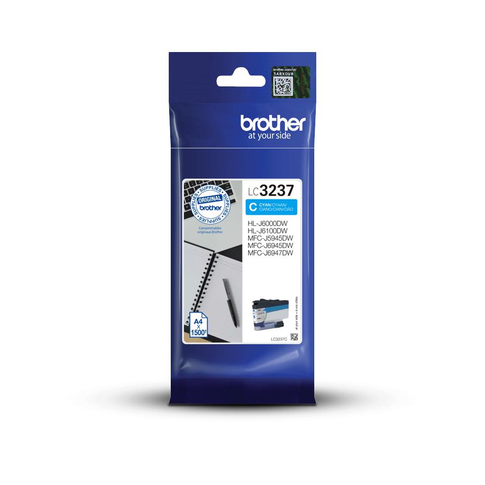 Brother LC-3237C Tintenpatrone – Cyan