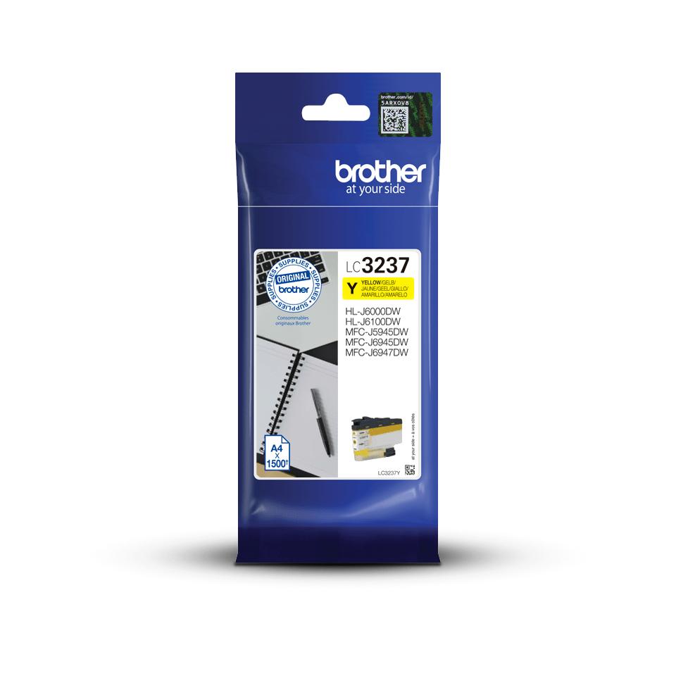 Brother LC-3237Y Tintenpatrone – Gelb