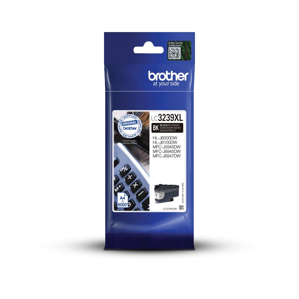 Brother LC-3239XL-BK Tintenpatrone – Schwarz