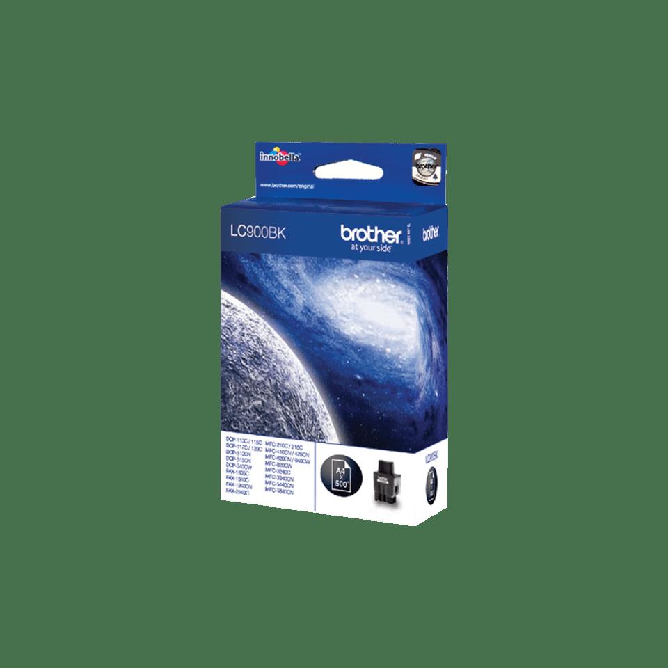 Brother LC-900BK Tintenpatrone – Schwarz 2