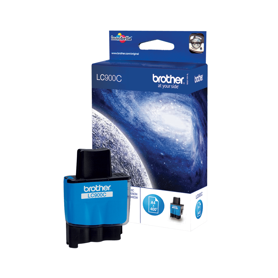Brother LC-900C Tintenpatrone – Cyan