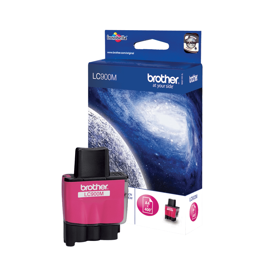 Brother LC-900M Tintenpatrone – Magenta