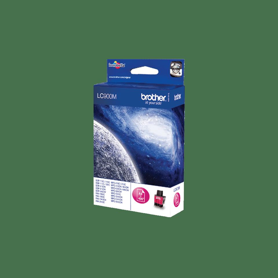 Brother LC-900M Tintenpatrone – Magenta 2