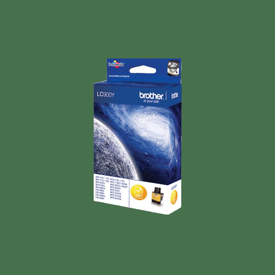 Brother LC-900Y Tintenpatrone – Gelb