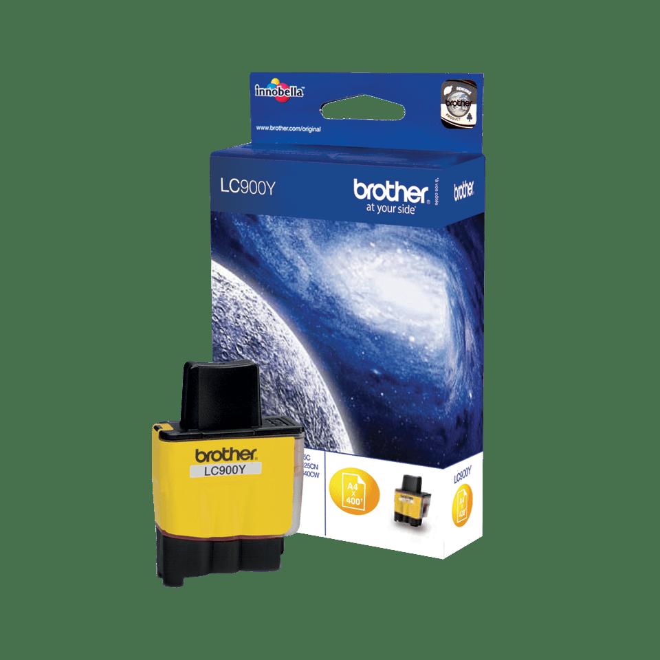 Brother LC-900Y Tintenpatrone – Gelb 2