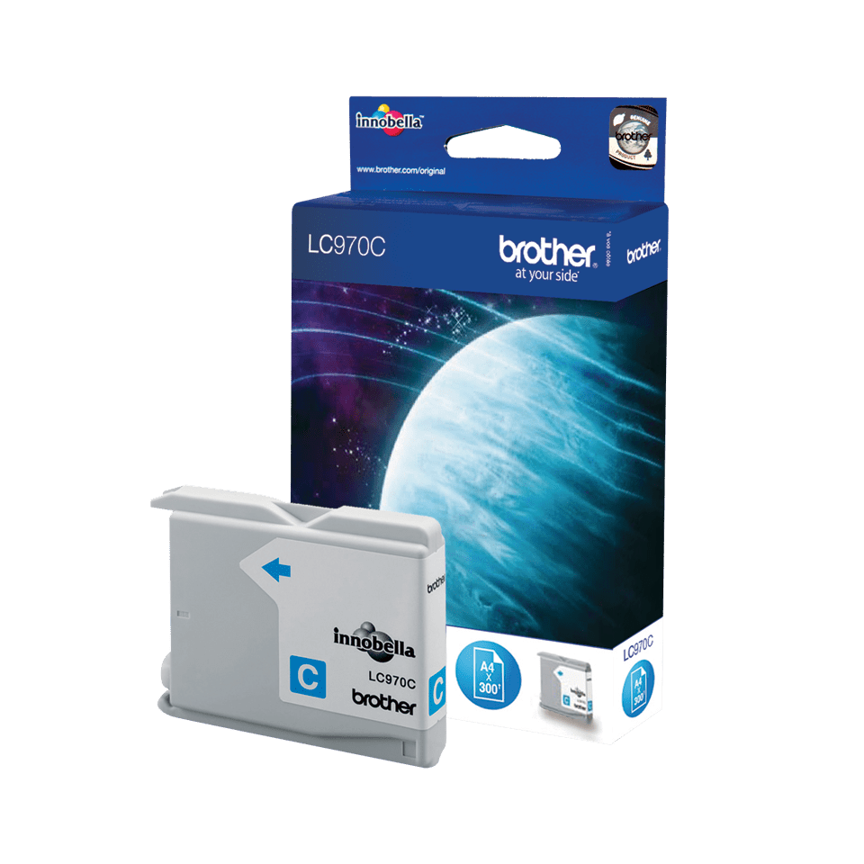 Brother LC-970C Tintenpatrone – Cyan 0