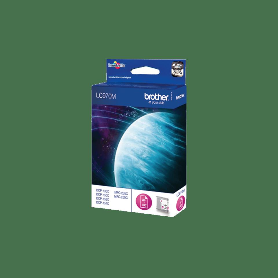 Brother LC-970M Tintenpatrone – Magenta