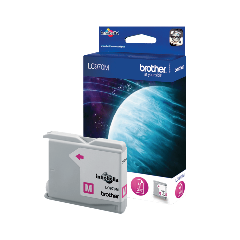 Original Brother LC-970M Tintenpatrone – Magenta