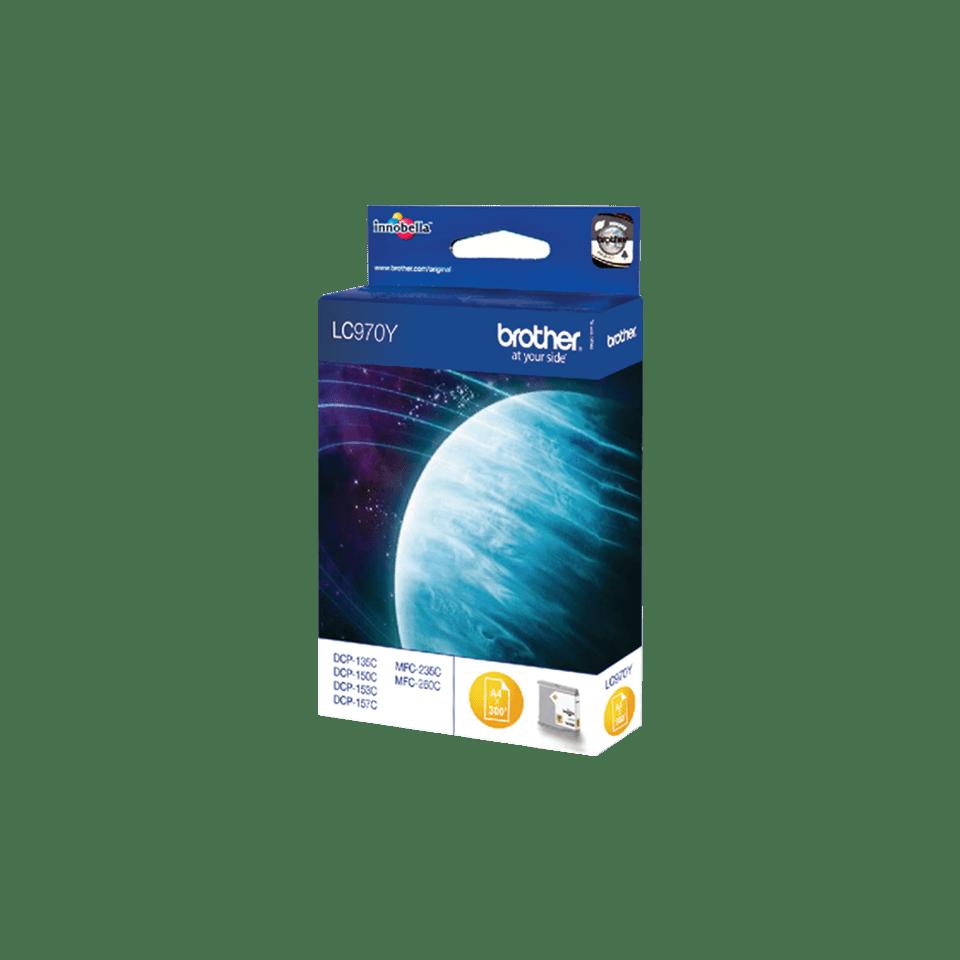 Brother LC-970Y Tintenpatronen – Gelb 2