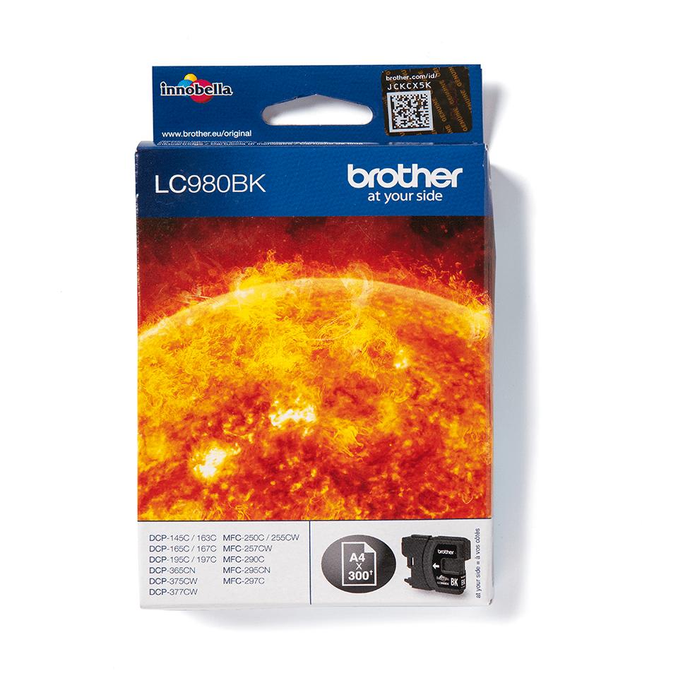 Brother LC-980BK Tintenpatrone – Schwarz 0