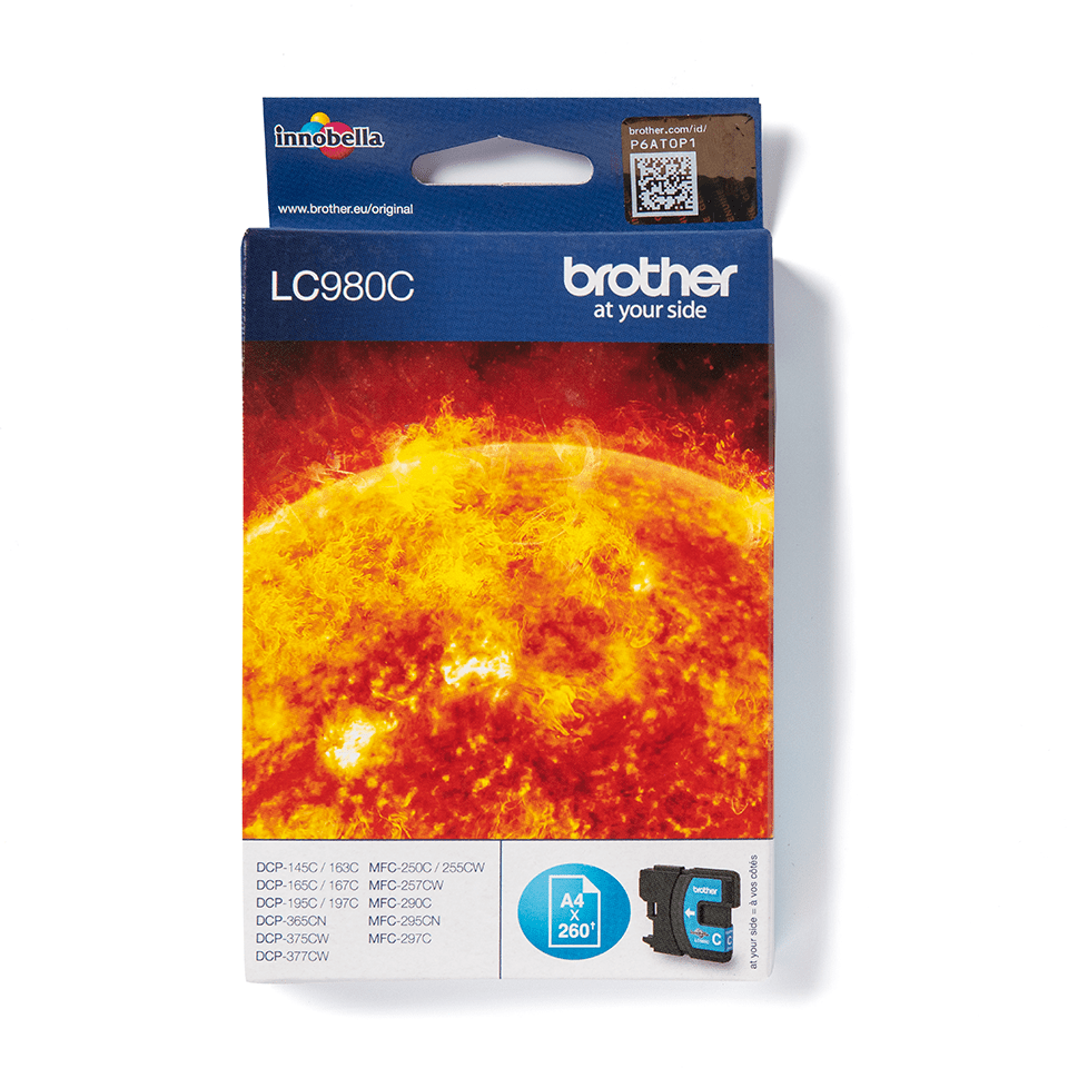 Brother LC-980C Tintenpatrone – Cyan