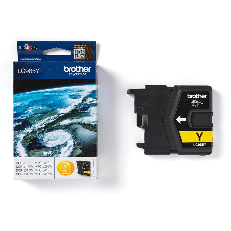 Brother LC-985Y Tintenpatronen – Gelb 2