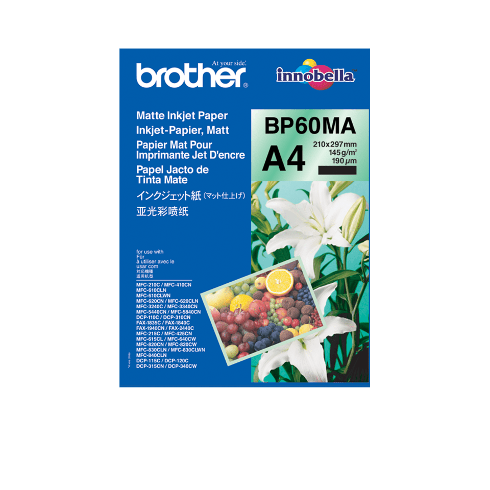 Brother BP60MA Mattes Inkjetpapier A4