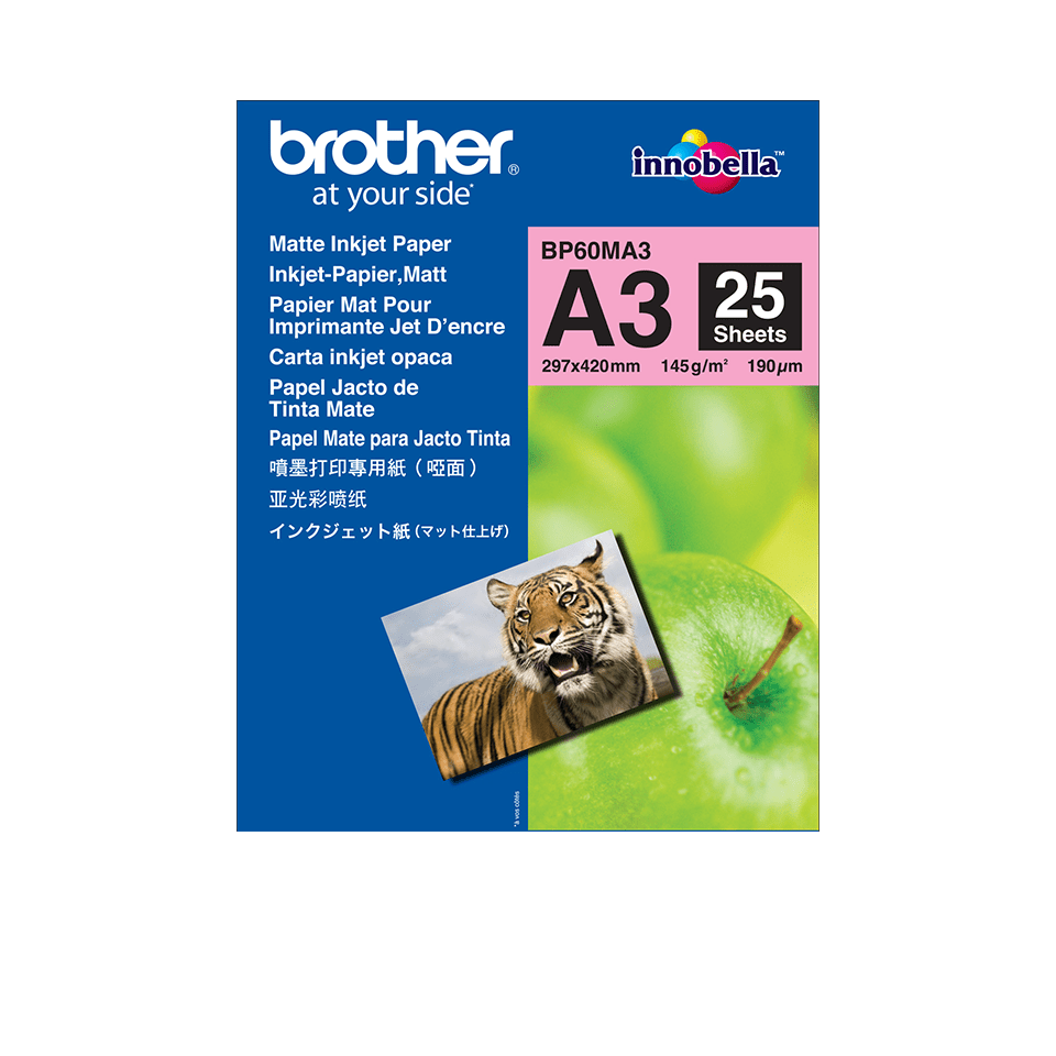 Brother BP60MA3 Mattes Inkjetpapier A3