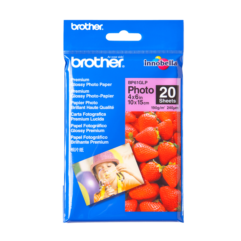 Brother BP61GLP Glanzpapier A6