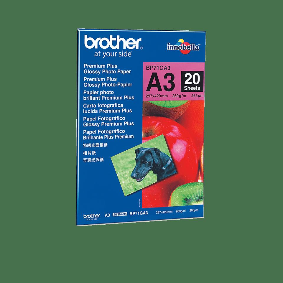 Brother BP71GA3 Fotopapier A3 0