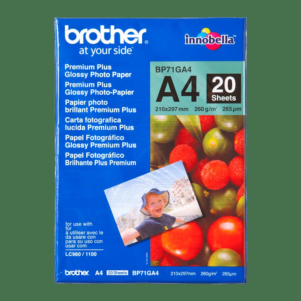 Brother BP71GA4 Fotopapier A4 0