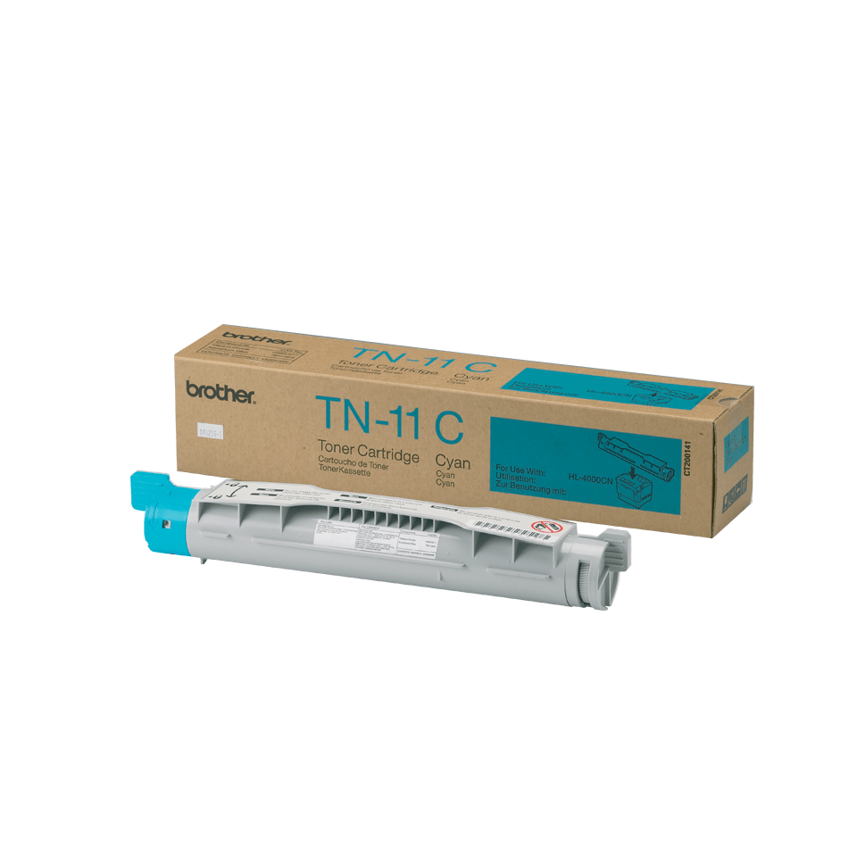 Brother TN-11C Tonerkartusche – Cyan 0
