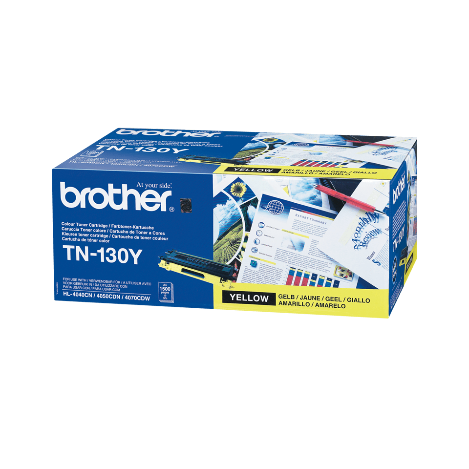 Brother TN-130Y Tonerkartusche – Gelb 2