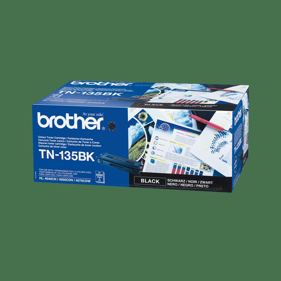 Brother TN-135BK Tonerkartusche – Schwarz