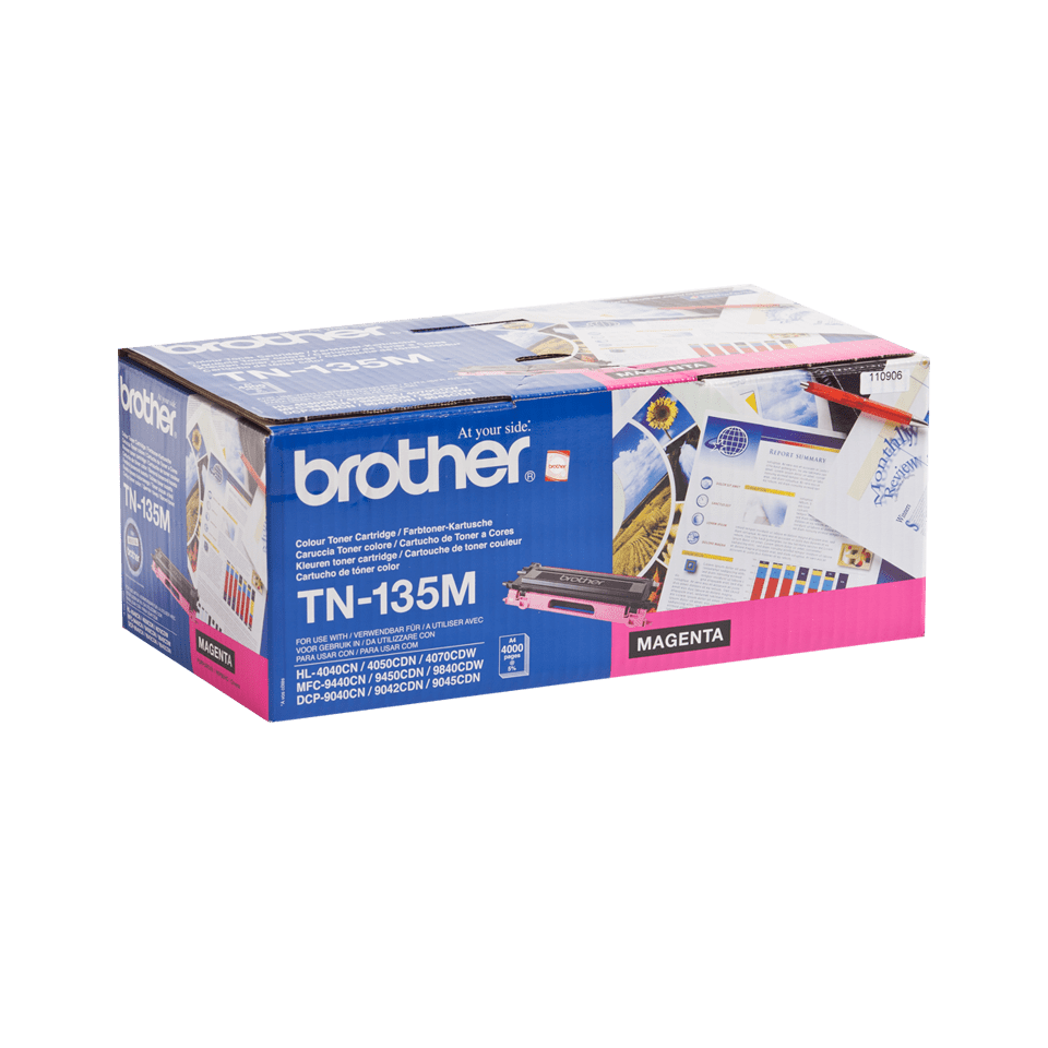 Brother TN-135M Tonerkartusche – Magenta 2