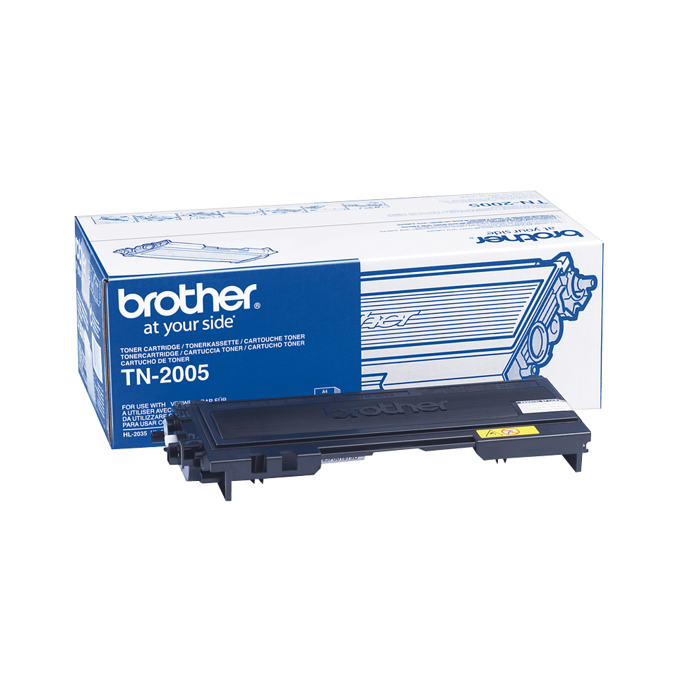 Brother TN-2005 Tonerkartusche – Schwarz 0
