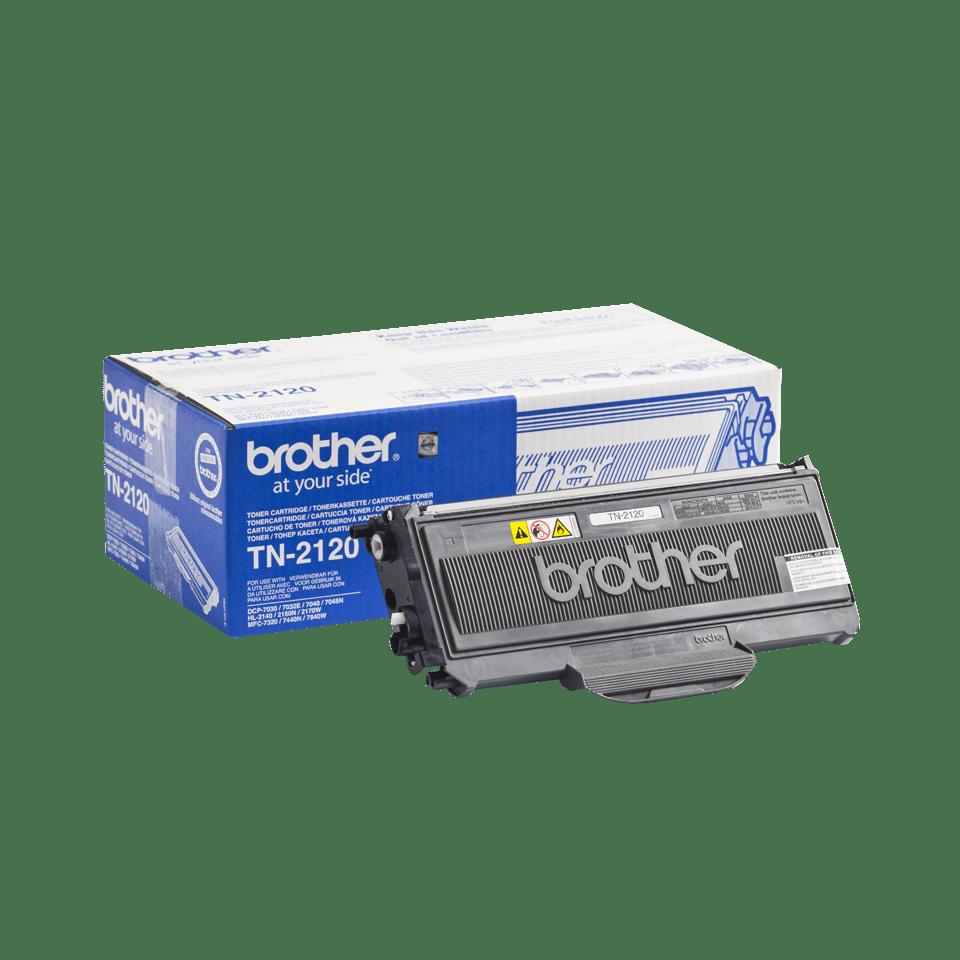 Brother TN-2120 Tonerkartusche – Schwarz