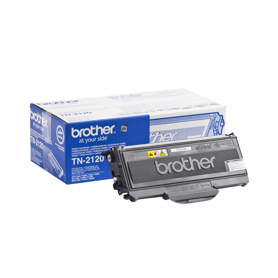 Brother TN-2120 Tonerkartusche – Schwarz 2
