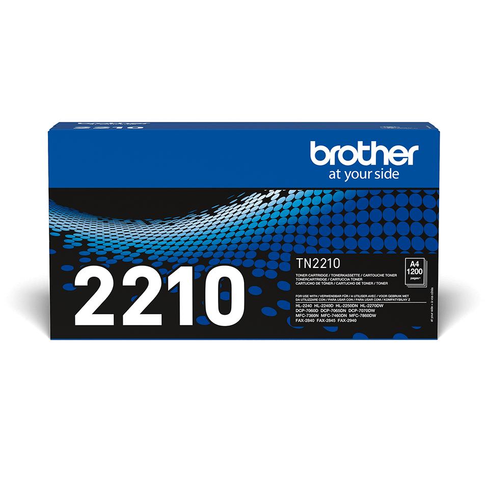 Brother TN-2210 Tonerkartusche – Schwarz 2