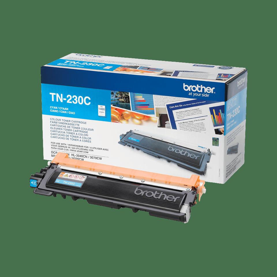 Brother TN-230C Tonerkartusche – Cyan 2