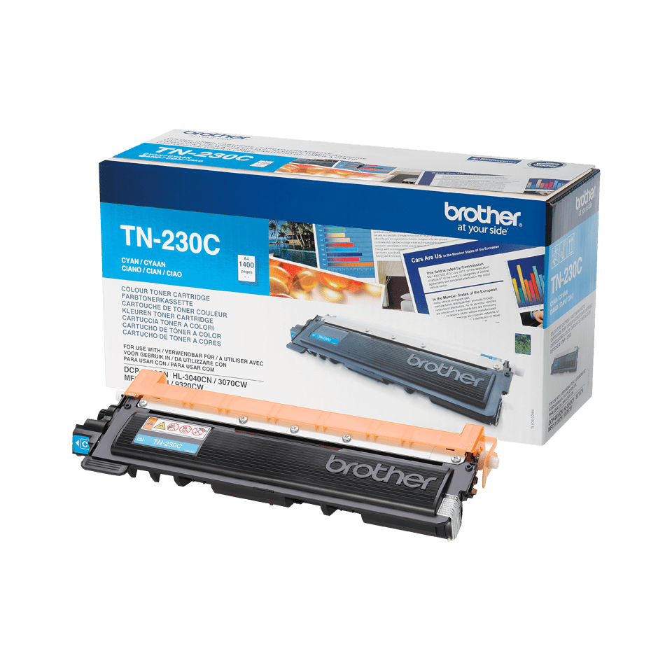 Brother TN-230C Tonerkartusche – Cyan 2