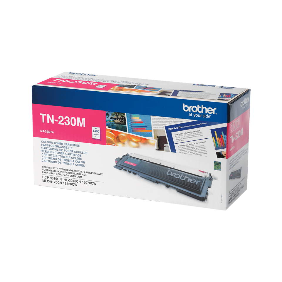 Brother TN-230M Tonerkartusche – Magenta 0