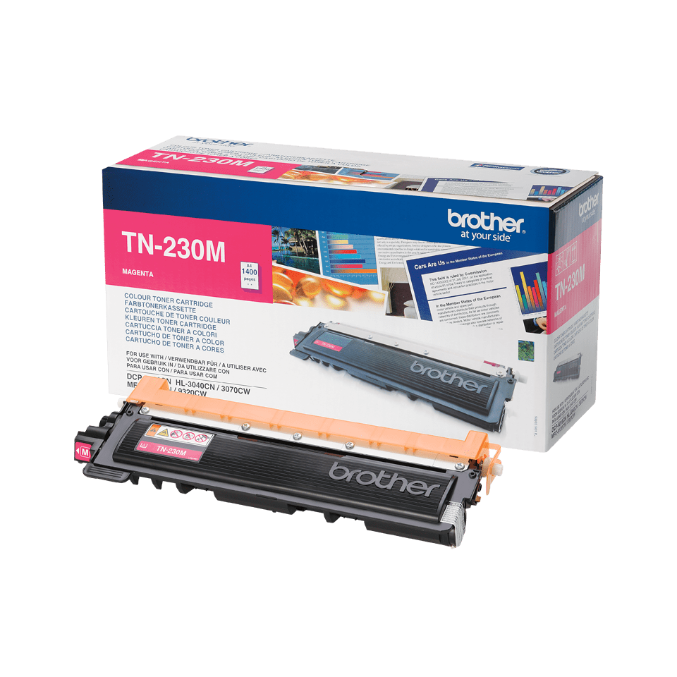 Brother TN-230M Tonerkartusche – Magenta 1