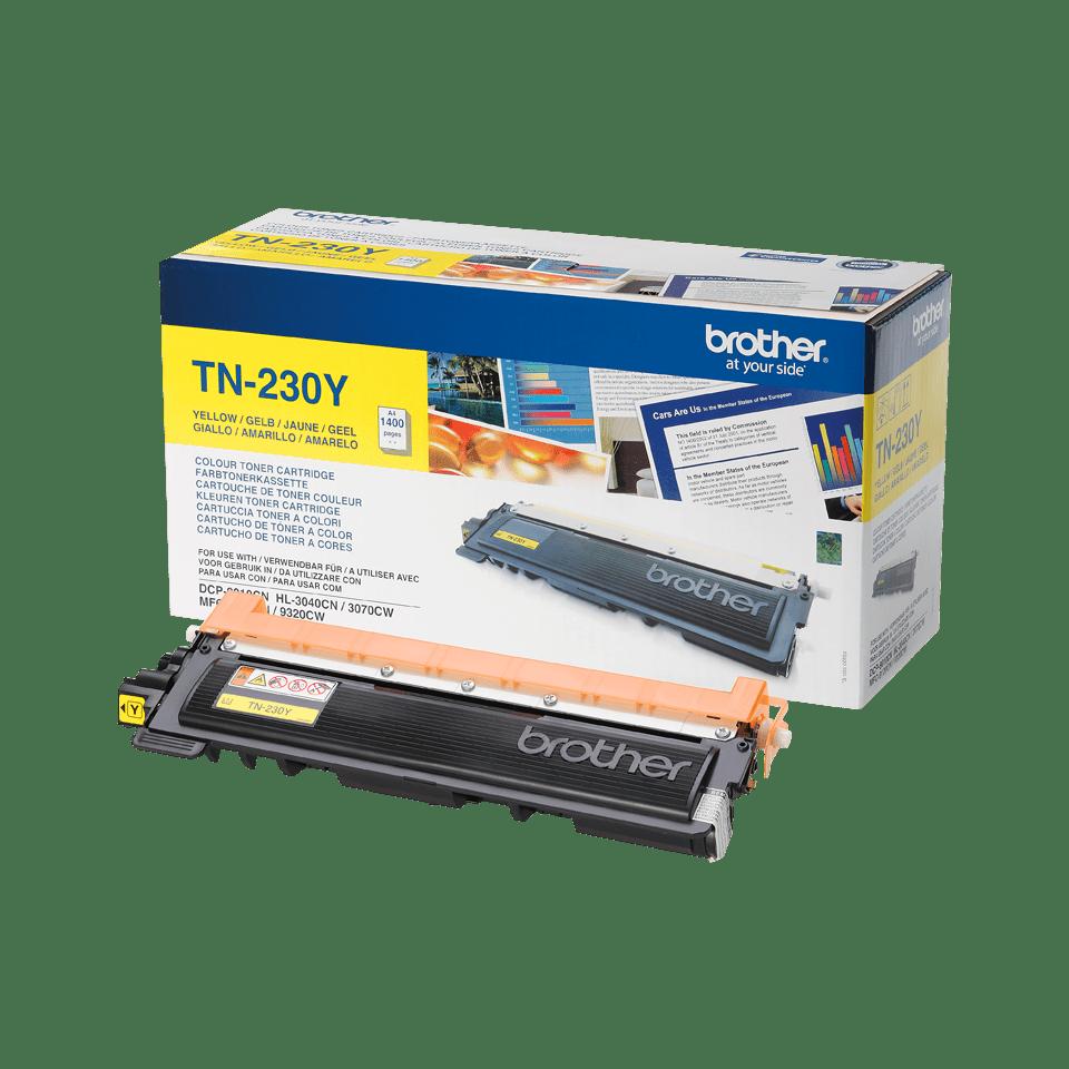 Brother TN-230Y Tonerkartusche – Gelb 2