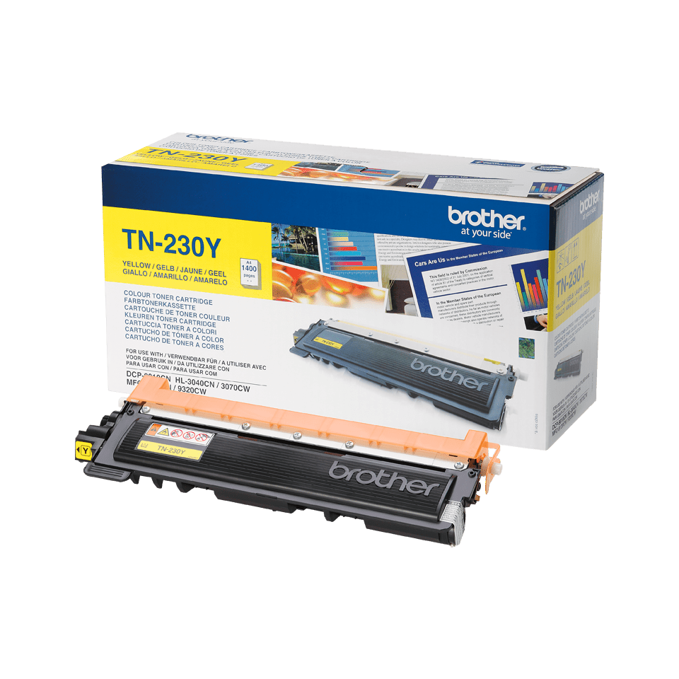 Brother TN-230Y Tonerkartusche – Gelb 1