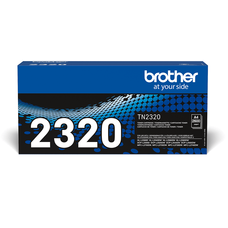 Brother TN-2320 Tonerkartusche – Schwarz 0