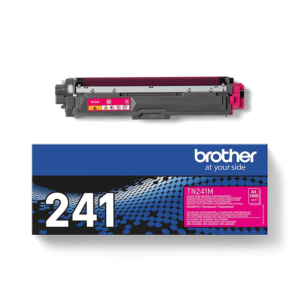 Brother TN-241M Tonerkartusche – Magenta 2
