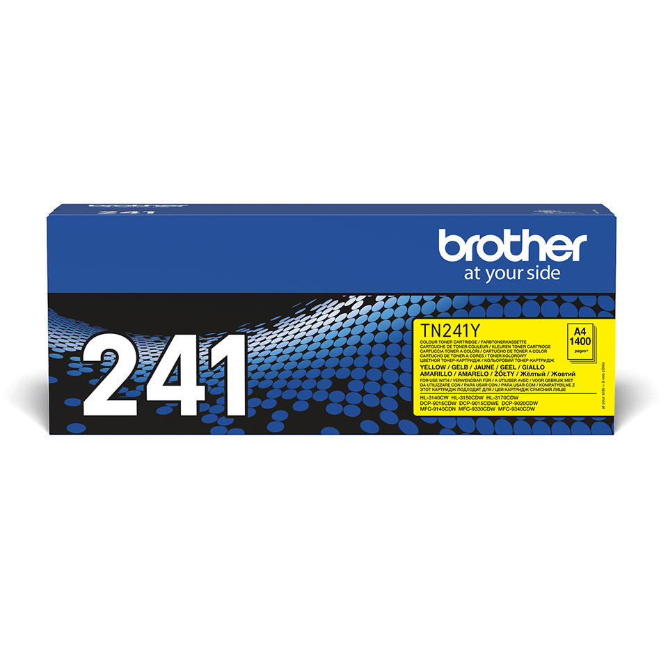 Brother TN-241Y Tonerkartusche – Gelb 2