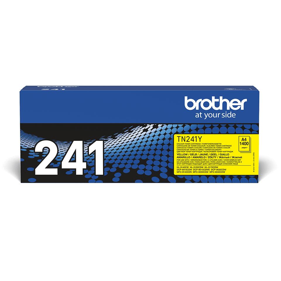 Brother TN-241Y Tonerkartusche – Gelb