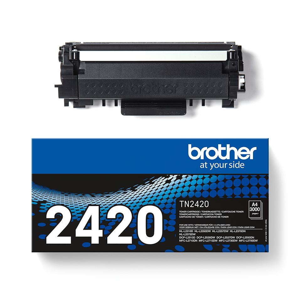 Brother TN-2420 Tonerkartusche - Schwarz 3