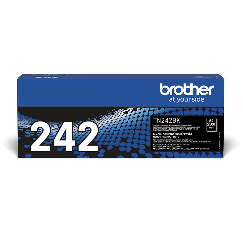 Brother TN-242BK Tonerkartusche – Schwarz 0