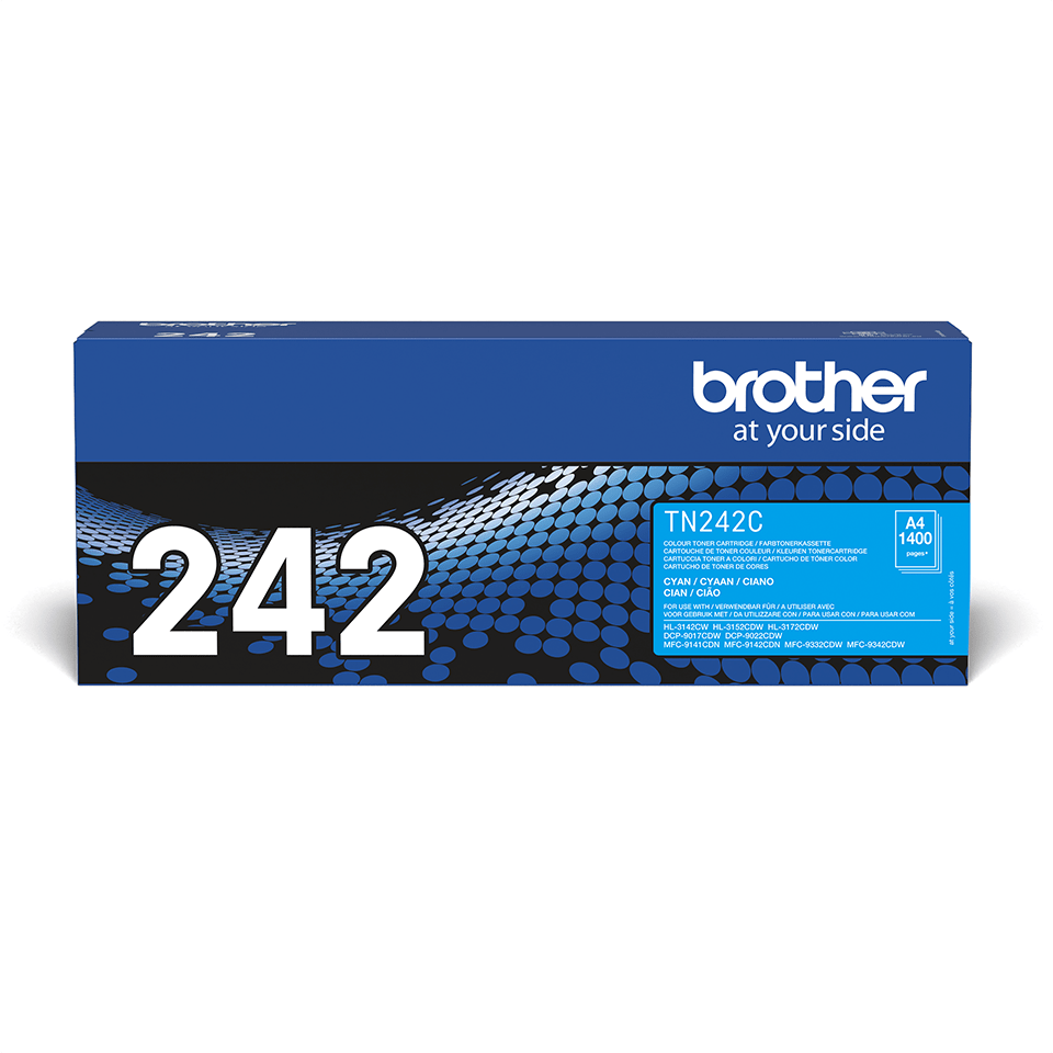 Brother TN-242C Tonerkartusche – Cyan